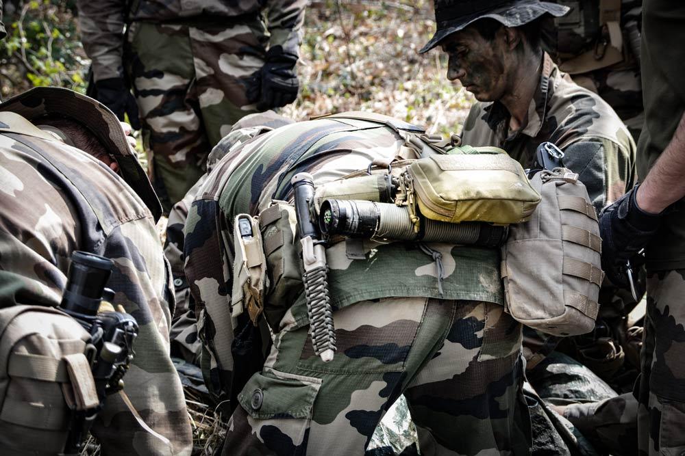 Black op commando militaire kit de survie